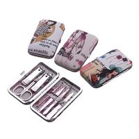 Finger scissors set toiletry kit finger plier set nail art set repair nail clipper