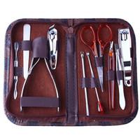 9.9 nail clipper beauty set tools 10 piece set manicure plier pedicure knife