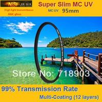 NiSi 95mm Ultra Violet Super Slim Multi-coated Multi-Coating (12 Layers) MC UV Filter For Digital SLR Camera 95 mm LENS