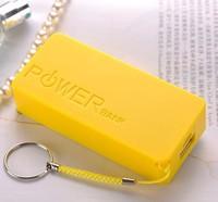Perfume Universal 5600mAh USB External Backup Battery Power Bank for iphone/samsung/xiaomi/nokia/Htc + Micro usb cable