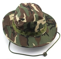 13 Colors-New Camouflage Bucket Safari Soft Cotton Fishing Cap Hat