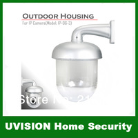 New Outdoor Waterproof Dome Housing Enclosure for Security CCTV IP Pan Camera free shipping