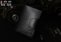 Purse Wallets for men Hot Sale 2014 Men's casual suction Buckle Leather Wallet Men Wallets Leather Man Purse Wallet Clip