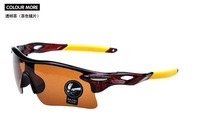 2014 New Arrival Top Quality Night Vision Sunglasses Driving Cycling Men Women Sports Sunglasses UV400 Sunglasses Y0105