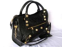 Hot-selling rivet motorcycle bag quality women's handbag fashion elegant women's handbag messenger bag