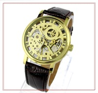 Fashion Business Watches Black White dial Stainless steel band Automatic Mechanical Watch 0056