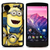 FOR Nexus 5 CASE, Despicable Me Minion Rush Hard Case With Alumium Back For LG Google Nexus 5 (NEXUS5-1533)