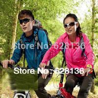 Outdoor men/women Sumer autumn Brand skin clothing windbreaker waterproof Ultralight Sunscreen UV protection breathable jackets