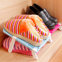 mix min order $20 Home portable adjustable shoe storage hanger adjust finishing rack k1884