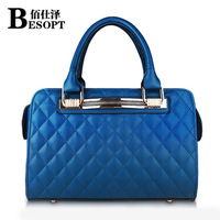2014 women's handbag fashion plaid bag the trend of the autumn and winter Women messenger bag handbag