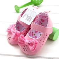 2014 spring flower pink princess shoes 6088b  6pairs/lot free shipping