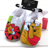 Winter cartoon shoes, floor shoes foot wrapping female baby toddler shoes 5128  6pairs/lot free shipping