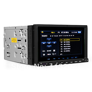 Free shipping7-inch 2 Din TFT Screen In-Dash Car DVD Player With RDS(China (Mainland))