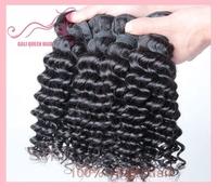 Malaysian Virgin Hair 5A Grade Top Quality Unprocessed Virgin Hair GALI Queen Hair Deep Curly Wave 4pcs/Lot DHL Free Shipping