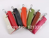 Free Shipping women's Fashion multifunctional genuine/cowhide leather key wallet/key case/key holder/COIN wallets YSB008