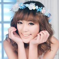 Free Shipping! 2014 New Fashion Married Garland Handmade Bridal Hair Accessories Wedding Hair Jewelry Children Use TH313