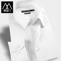Male shirt male long-sleeve shirt spring business casual formal slim men's clothing