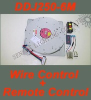 Wire Controlled+Remote Controlled Winch for Chandelier Hotel Project Lighting Lifter DDJ250-6m 110V-240V free shipping