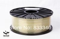 Tranparent color 3d printer filaments PLA ABS 1.75mm 3mm 1kg/spool plastic Rubber Consumables Material MakerBot/RepRap/UP/Mendel
