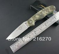 RAT Digital Camouflage G10 handle folding knife AUS-8 blade outdoor knife 58HRC pocket knife survival knife FREE SHIPPING