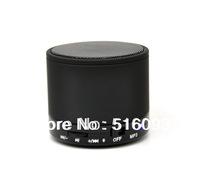 Free Shipping Metal Mini Stereo Wireless V2.1 Bluetooth Speaker W/Mic Micro SD/TF Slot
