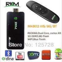 RKM MK802 IIIS +MK706  Mini Android 4.2 PC Dongle RK3066 Cortex A9 1GB RAM 8G ROM & Bluetooth& wireless keyboard