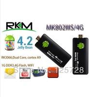 Rikomagic MK802 IIIS Mini PC Blue Tooth Mobile Remote Control RK3066 Cortex A9 1GB RAM 4G ROM HDMI TF Card