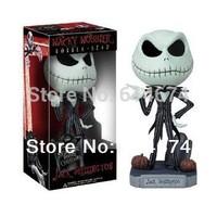 Nightmare Before Christmas Jack Skellington Wacky Wobbler FUNKO POP vinyl doll18cm  classic toys -only 1 dollar shipping fee