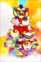 Free shipping cake stand Party favors birthday party cake stand 3 tier cake stand paper cake stand