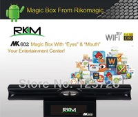 RKM Android4.1 Magic Box RK3066 1.6GHz Cortex A9 1G RAM 8G ROM Ethernet Mic /Mic+bluetooth wifi HDMI TF Card