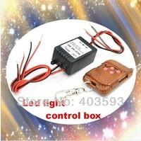 Wireless Car Eagle eye DRL Daytime Running Screw Led License plate Car Reverse Backup Parking Light Strobe Flash Controller box
