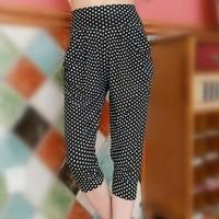 nz329 Free Shopping 1pcs fashion Ladies' plus size 7minutes of pants haroun pants/super elastic pants