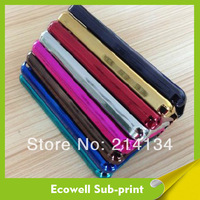 Hot 50pcs/lot Sublimation Electroplate Case for Samsung S4 i9500 free shipping by DHL