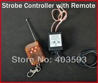 12V Wireless Remote Control Module w/ Strobe Flash For Car LED Bulbs, LED Strips