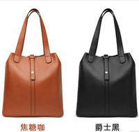 women bags new 2013 women's vintage leather  handbag one shoulder bucket mother and son women messenger bag  women travel bags