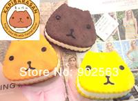 2014 new arrival tokyo aoyama RARE kapibarasan jumbo squishy charms+tag cute kawaii animal squishy pancake 10cm PU freeshipng