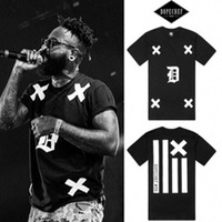 New 2014  summer fashion hiphop the trend of male short-sleeve T-shirt men and women t-shirt  100% cotton t shirt man