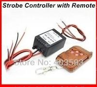 More stable 4 output Wireless remote control 12V led Eagle Eye DRL Daytime running lights controller, 16 mode flash Strobe