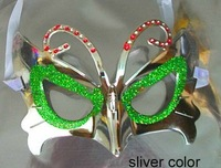 Free shipping (12 pieces/lot) 004 Butterfly shape party mask/Halloween mask/Festival mask