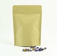 11 * 18.5 +3 Kraft paper bags ziplock bags zipper seal food cookie bags coffee bags 100pcs per lot