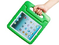 Protective Case and Stand with Handle for iPad 2, New iPad and iPad 4 (Green)