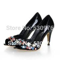 2014 women diamond platform shoes high heel roman style high class free shipping