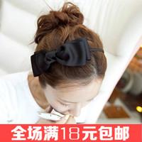 Free shipping  hair accessory Elegant ribbon big bow hairbands Fabric headband Beautiful hair ornaments 2014 new hair decoration