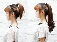 black ponytail promotion