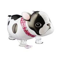 Free shipping 20pcs/lot helium walking balloon bull dog walking balloon party balloon