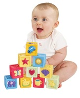 Hpp&Lgg brand Infant soft blocks baby toy