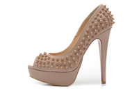 Hot 2014 #002 Sale Fashion Women Pumps 14cm Red Bottom High Heels Sexy Shoes Platform Women Party Shoes