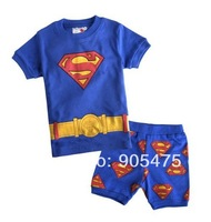 baby pajamas Baby Pyjamas Children Pyjamas Children Sleepwear short sleeves underwear clothing kids clear suits 6sets/lot  #34