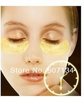 100pcs/lot Crystal Collagen Gold Powder Eye Mask Crystal Eye Mask Top Quality  100pcs=50packs Free Shipping