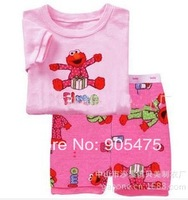 baby pajamas Baby Pyjamas Children Pyjamas Children Sleepwear short sleeves underwear clothing kids clear suits 6sets/lot  #24